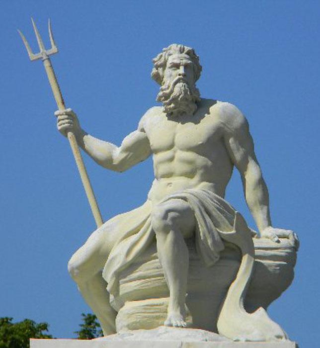 Teknogods - Poseidon statue greece ...